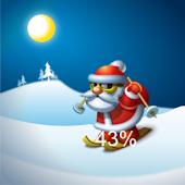 Santa Claus Battery Widget