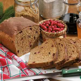Holiday Cranberry Yeast Bread.