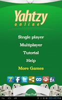 Screenshot of Yahtzy Online Lite