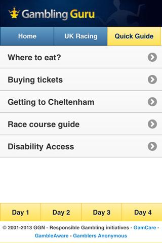 Cheltenham Festival Guide - screenshot