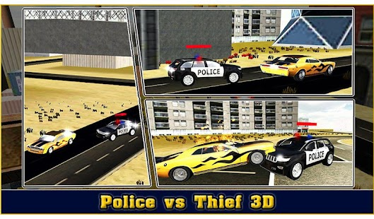 Police vs Thief 3D Screenshot