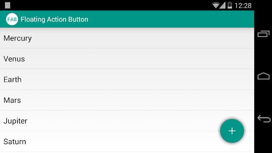 玩程式庫與試用程式App|Floating Action Button Sample免費|APP試玩