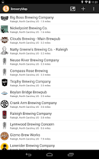BreweryMap #1 Beer Finding App- screenshot thumbnail