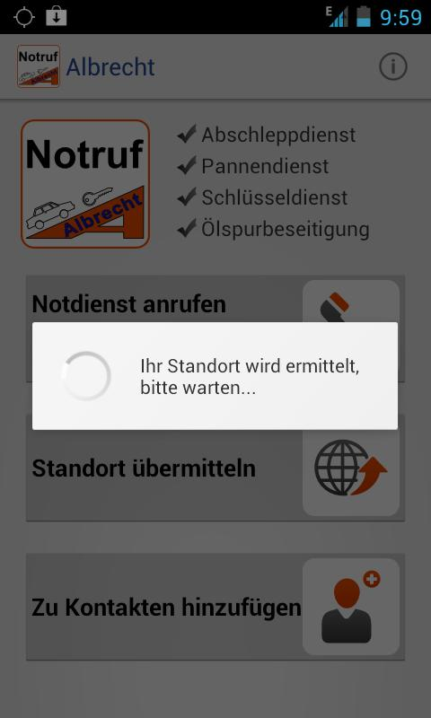 notruf albrecht android apps on google play. Black Bedroom Furniture Sets. Home Design Ideas
