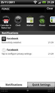 PDroid Privacy Protection- screenshot thumbnail