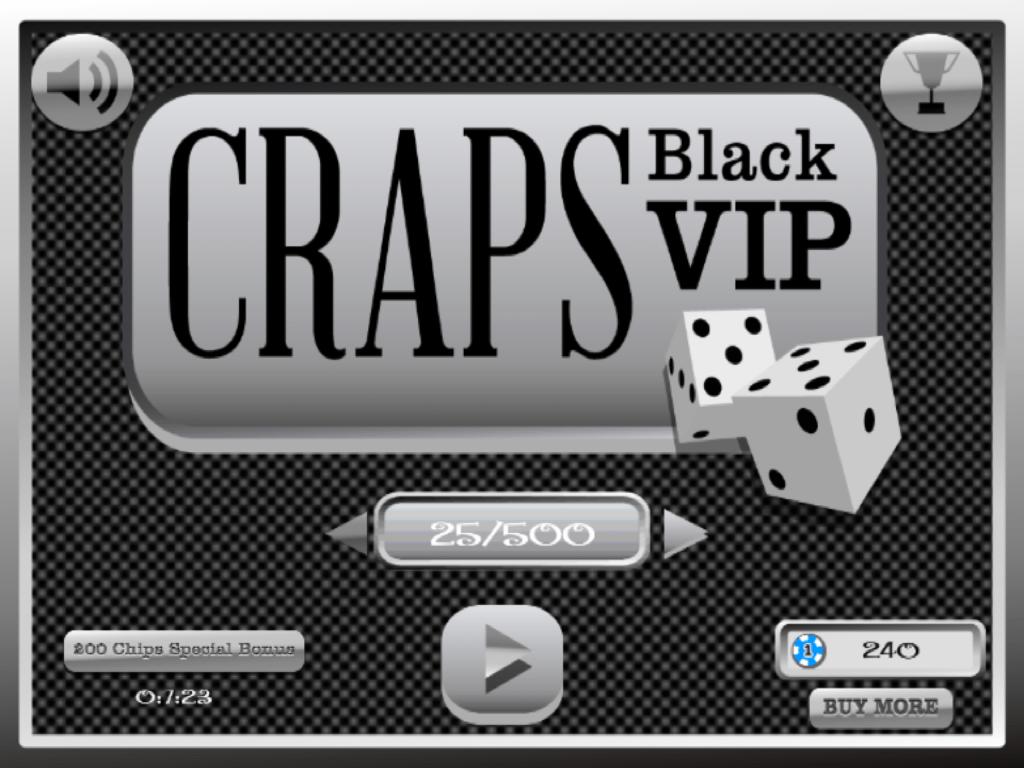 Black craps