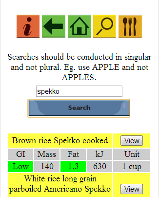 NutriFinder- screenshot
