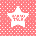 Pink Star Pattern Kakao Theme