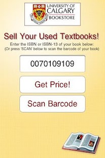Sell Books Univ. of Calgary- screenshot thumbnail