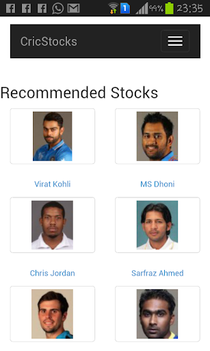 World Cup Cricket Stock Market