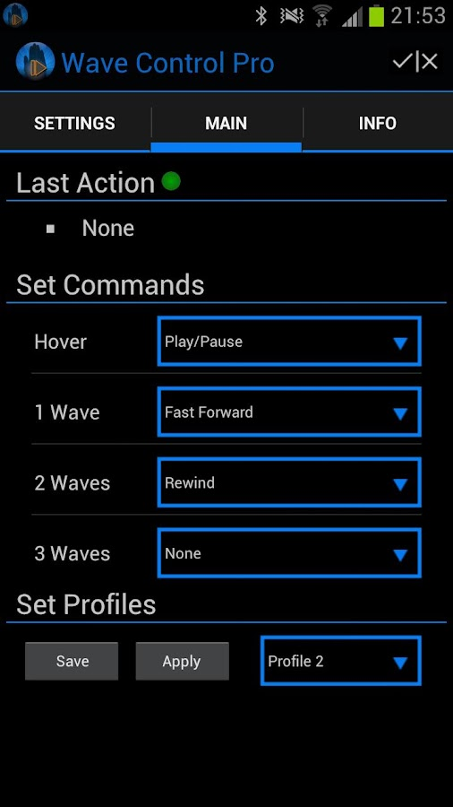Wave Control Pro - screenshot