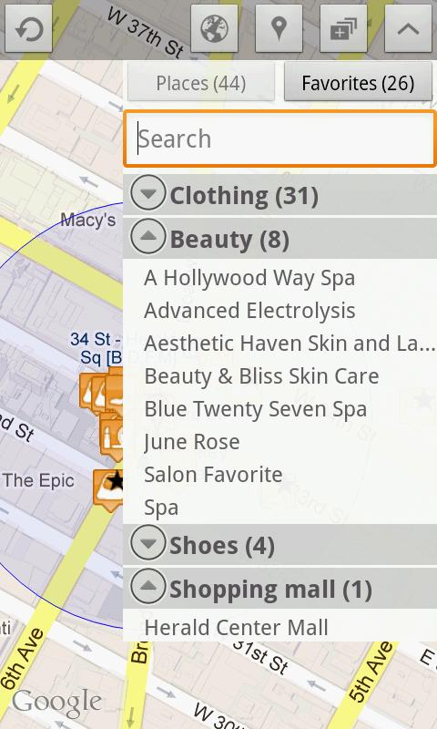 Fashion Places Lite- screenshot