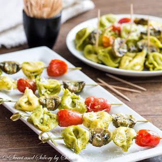 Pesto Mushroom Tortellini.