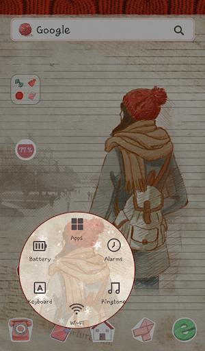 玩個人化App|피피노트(세미캐쥬얼) 도돌런처 테마免費|APP試玩