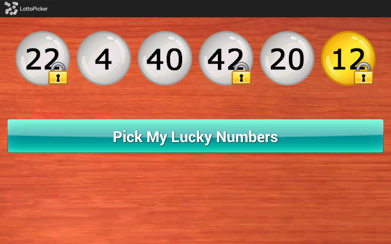 Lottery Number Picker- screenshot