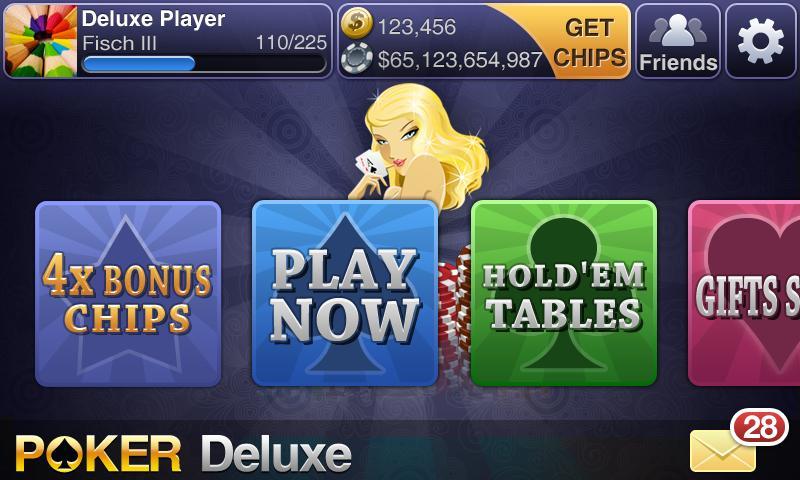 Texas HoldEm Poker Deluxe screenshot #1