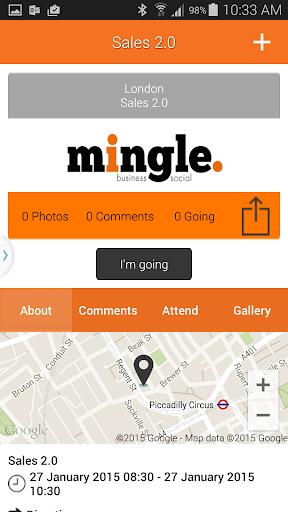 【免費商業App】mingle.-APP點子