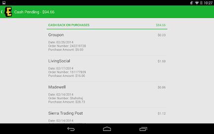 Ebates Cash Back & Coupons Screenshot 33