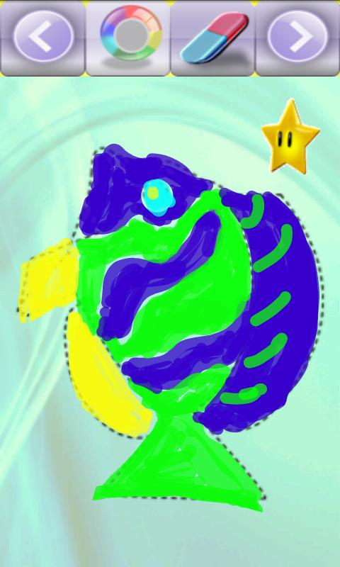 Funny Dots - Fishes - screenshot