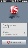 Screenshot of Samsung F5 BIG-IP Edge Client