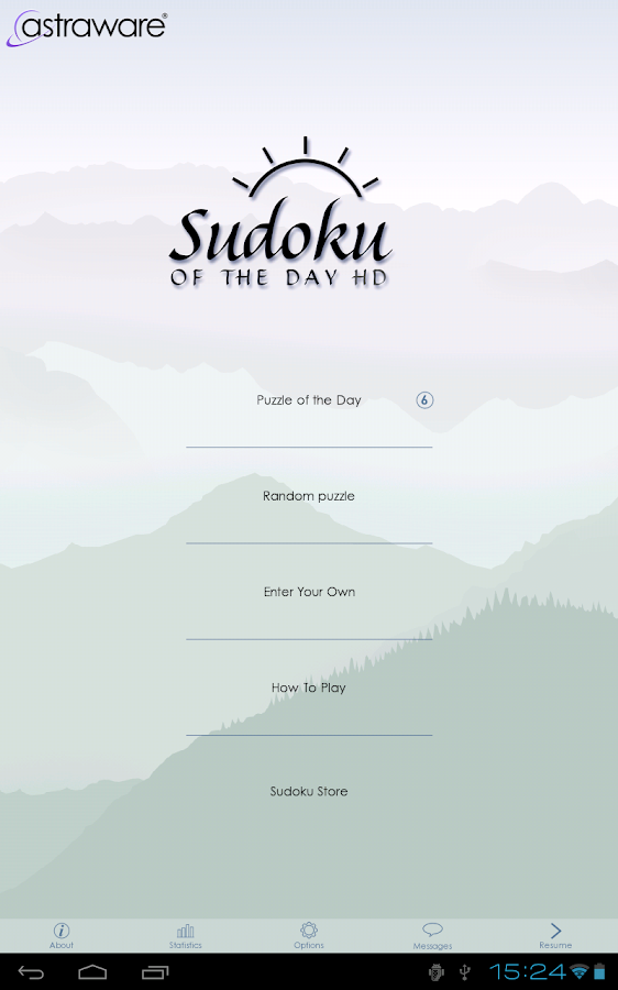 Sudoku Of The Day- screenshot