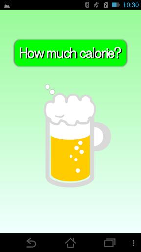 Liquors calorie