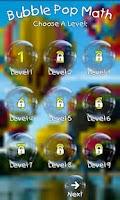 Screenshot of Bubble Pop Math Kids Game Free