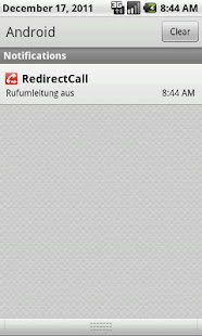 RedirectCall-call forwarding - screenshot thumbnail