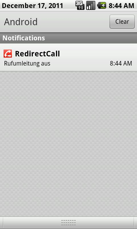 RedirectCall-call forwarding - screenshot