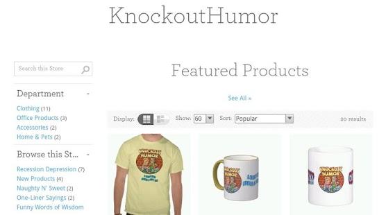 Knockout Humor Funny Jokes - screenshot thumbnail