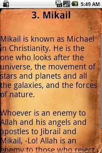 Angels and Islam Lite - screenshot thumbnail