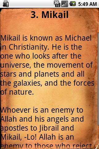 Angels and Islam Lite - screenshot