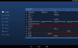Screenshot of TV Guide Mobile