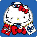 HELLO KITTY FLAGS logo