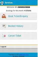 IRCTC Book Train Reservation