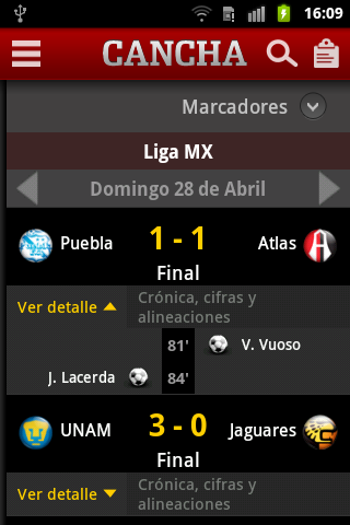 CANCHA - screenshot