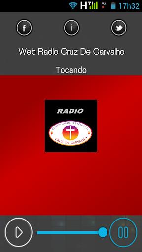 Web Radio Cruz De Carvalho