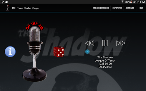 Old Time Radio Player- screenshot thumbnail
