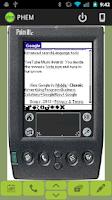 Screenshot of PHEM: Palm Hardware Emulator