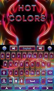 Hot-Colors-GO-Keyboard-Theme 4