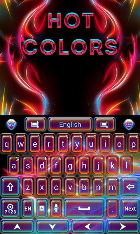 Hot-Colors-GO-Keyboard-Theme 10