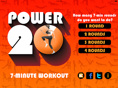 Power 20's 7 Min Workout Free