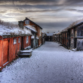 Røros by Jan Helge - Buildings & Architecture Public & Historical ( røros, buildings, old city, historic district, norway,  )