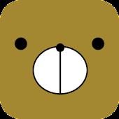 KumaFace Funny Teddy Bear Face