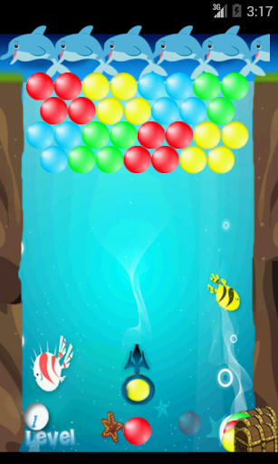 Bubble Shooter Dolphin