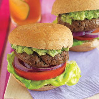 Bison Sliders with Guacamole