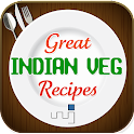 Great Indian Veg Recipes icon