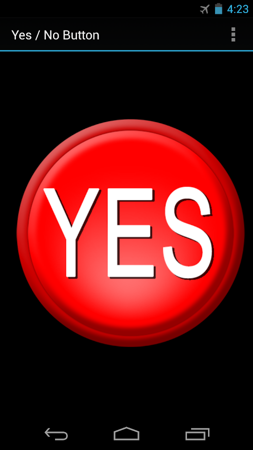 Yes / No Button - Android Apps on Google Play