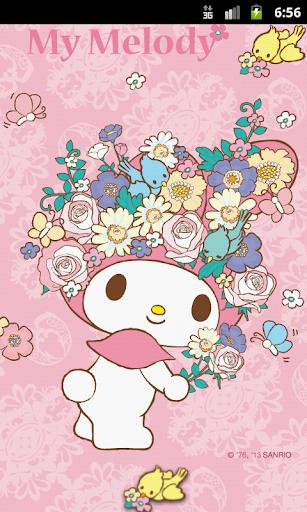 My Melody Flora Theme