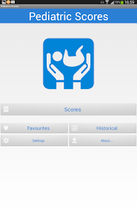Pediatric Scores- screenshot thumbnail